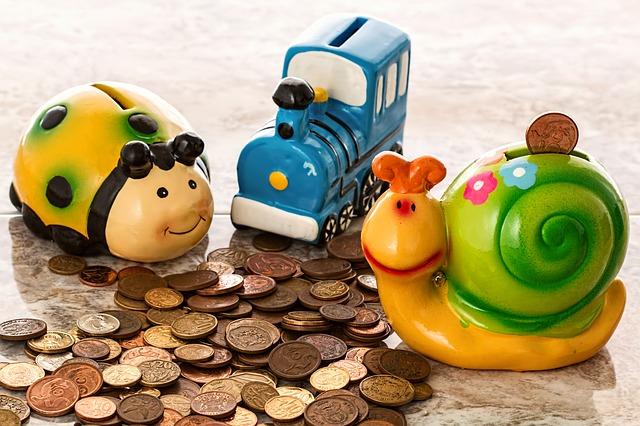 kinder und das liebe geld